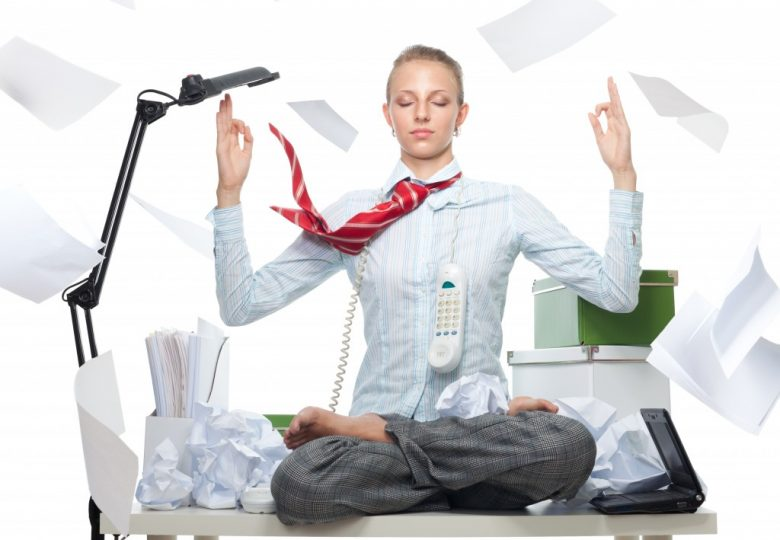 meditating in the office fotolia 255924642 780x540 - MEDITATION IN THE WORKPLACE