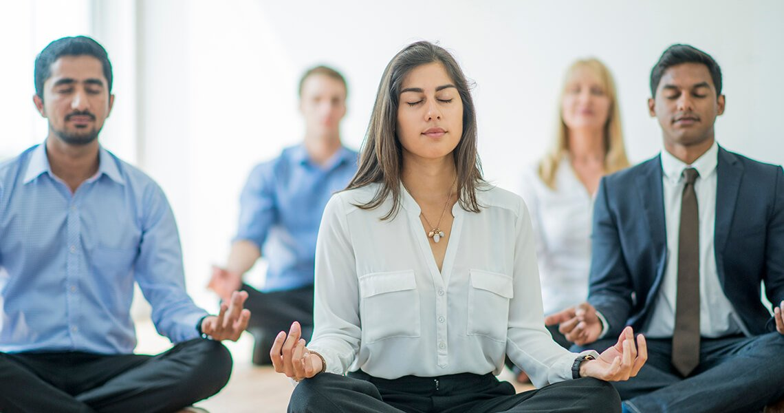 the Now Göteborg Meditation at work